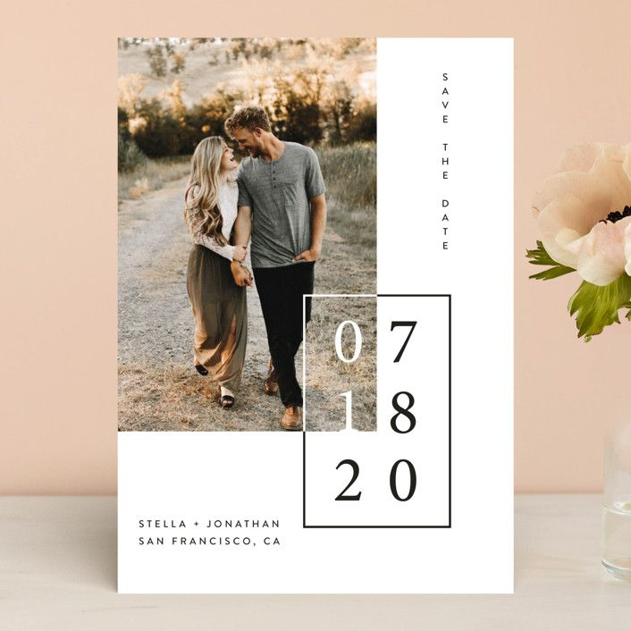 Folio Save The Date Cards by lulu and isabelle   Minted