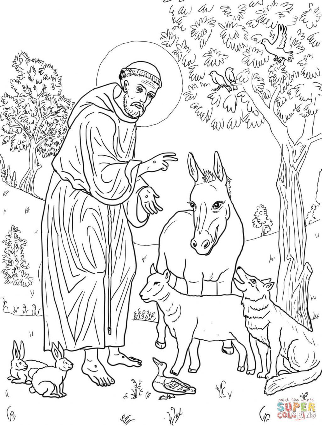 Printable: Exclusive Inspiration St Francis Of Assisi ...