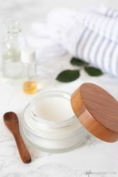 DIY Moisturizing Overnight Face Mask für trockene Haut  Diy Face Mask Aloa Vera