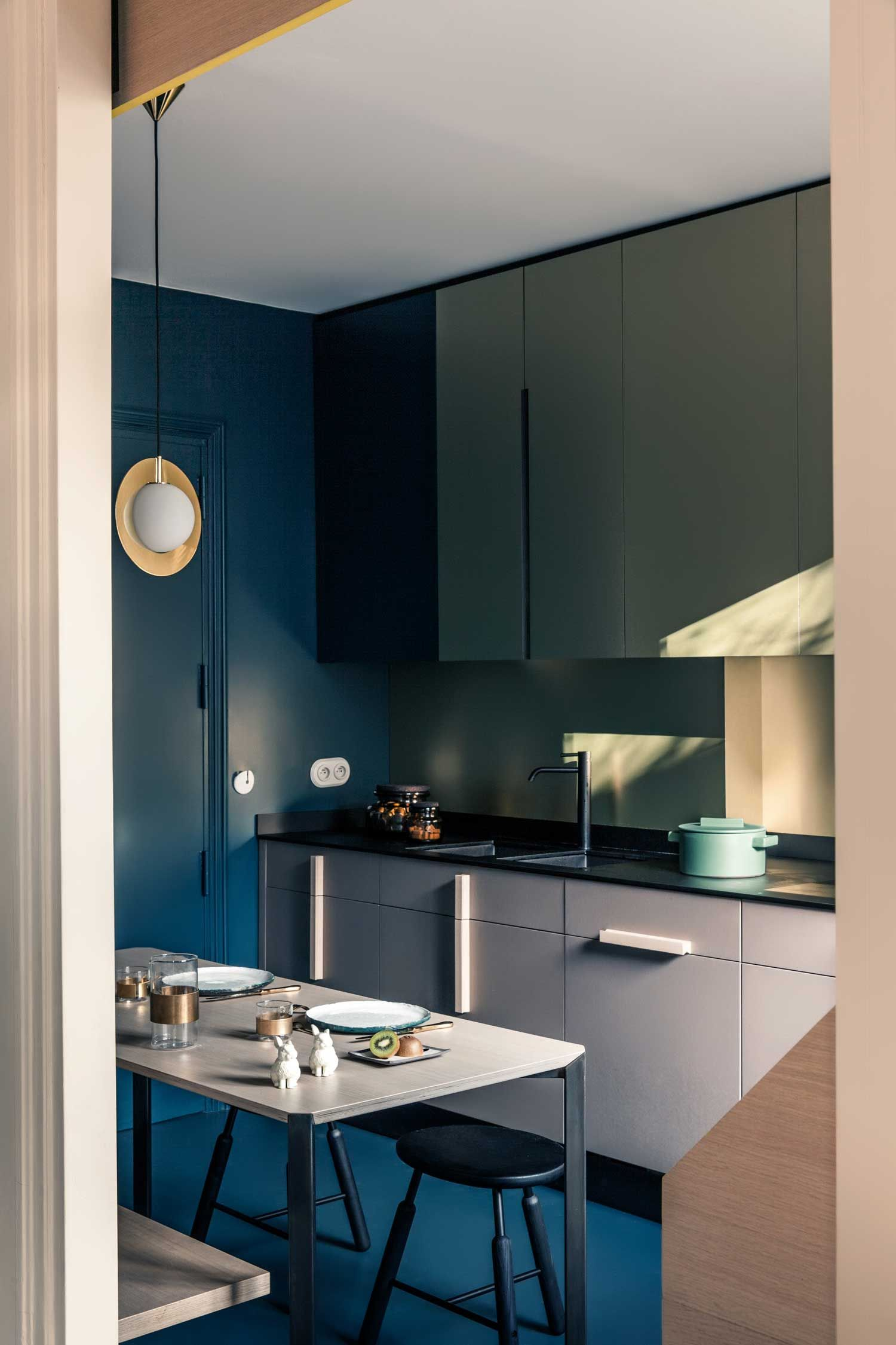 French Metal Rack: Paris Apartment By Marcante Testa (UdA). Metal RackParis DesignDining  Room ...