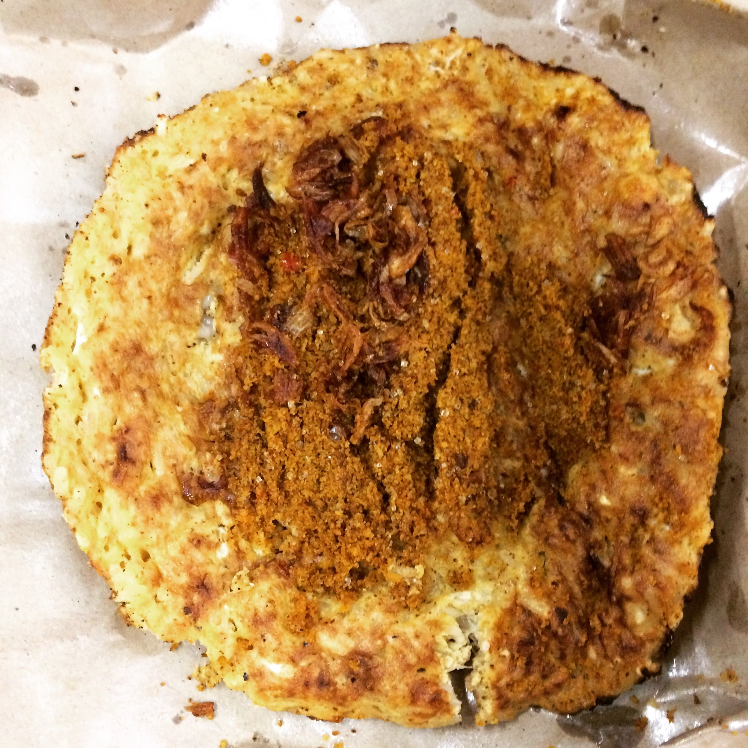 Kerak Telor Is An Indonesian Food The Traditional Food From Betawis People