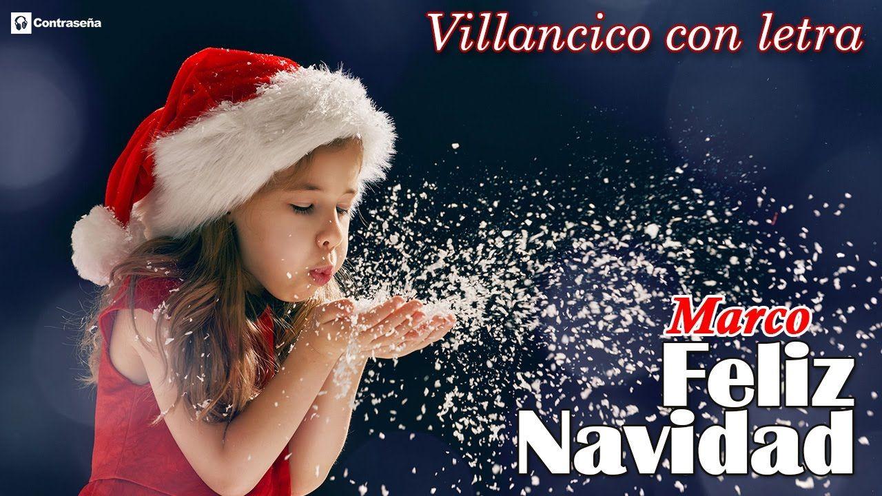 Letra de la cancion feliz navidad villancico