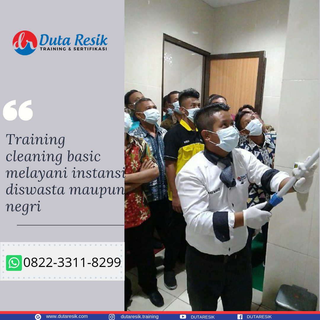 Praktek Cleaning Service,Pelatihan Cleaning Service