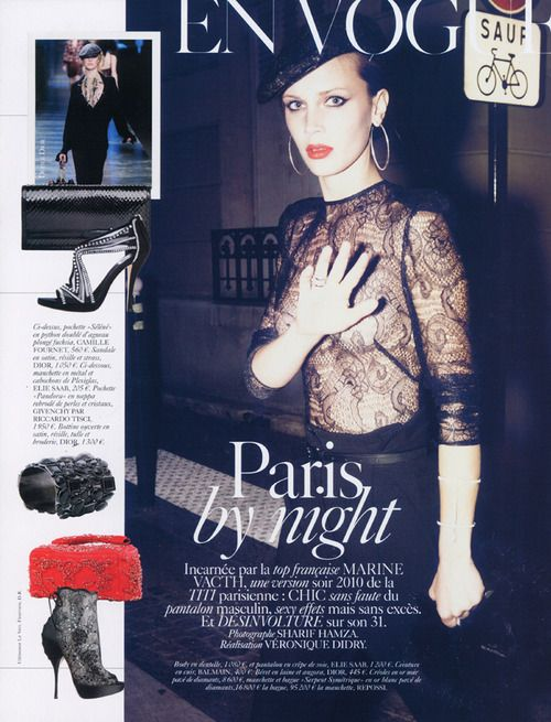 Vogue Paris September 2010 Marine Vacth