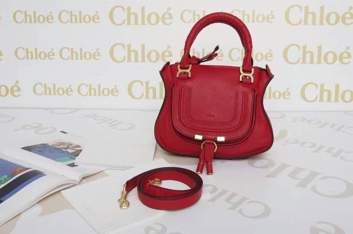 9466a236 Chloe Marcie handbag small grain calfskin handbag size:24x28x8cm ...