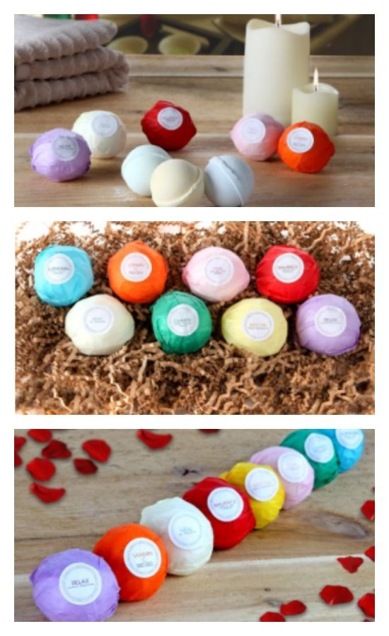 Hanza bath bombs are perfect for a romantic date night ...