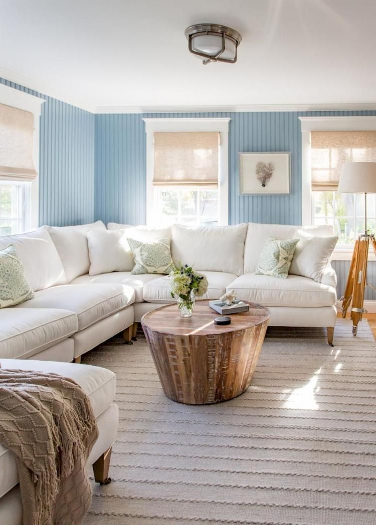 Admirable Coastal Living Room Decorating with 70+ Great Ideas