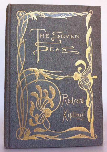 ≈ Beautiful Antique Books ≈ The Seven Seas....Rudyard Kipling 1900