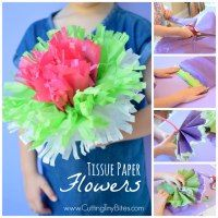 Httpcuttingtinybites201604tissue paper flowers easy perfect spring or summer project for preschoolers kindergartners or elementary children make a whole colorful flower bouquet mightylinksfo
