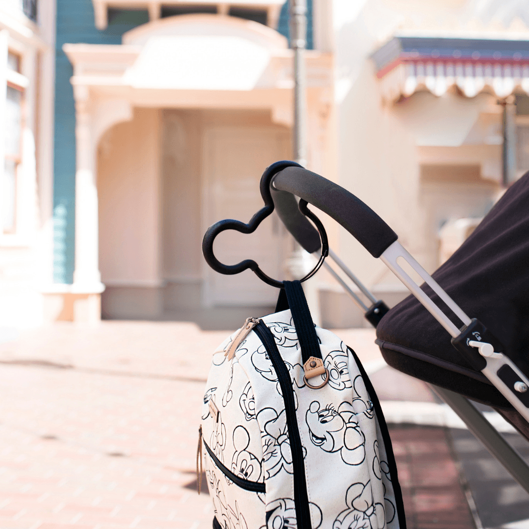 Mickey Mouse Stroller Hook Petunia pickle bottom