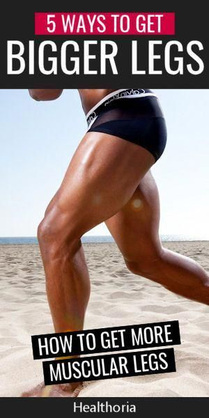 How to get bigger legs. If muscle, size, and adding thickness to your legs is your goal here's five...