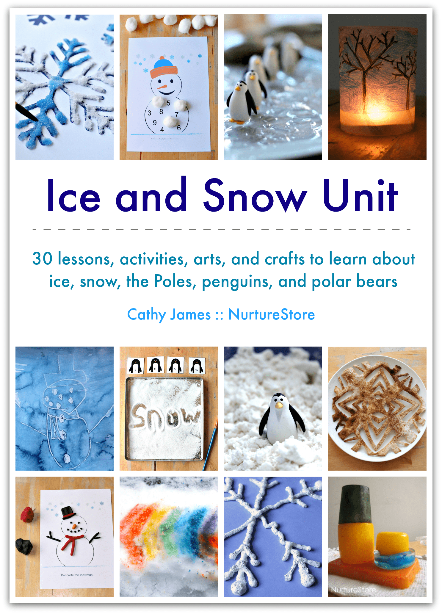 Ice And Snow Unit Winter Lesson Plans Activities And