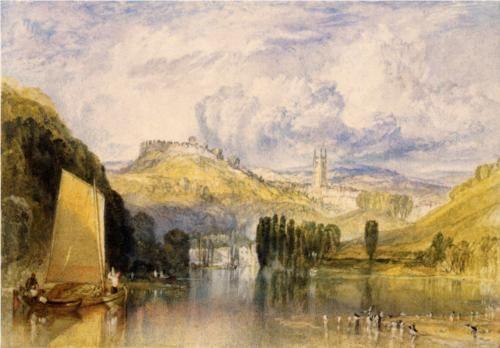 Totnes, in the River Dart - William Turner: