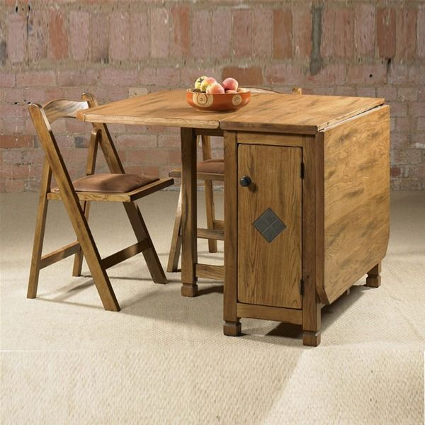 Beautiful folding dining table with good design charming for Small wood dining table and chairs