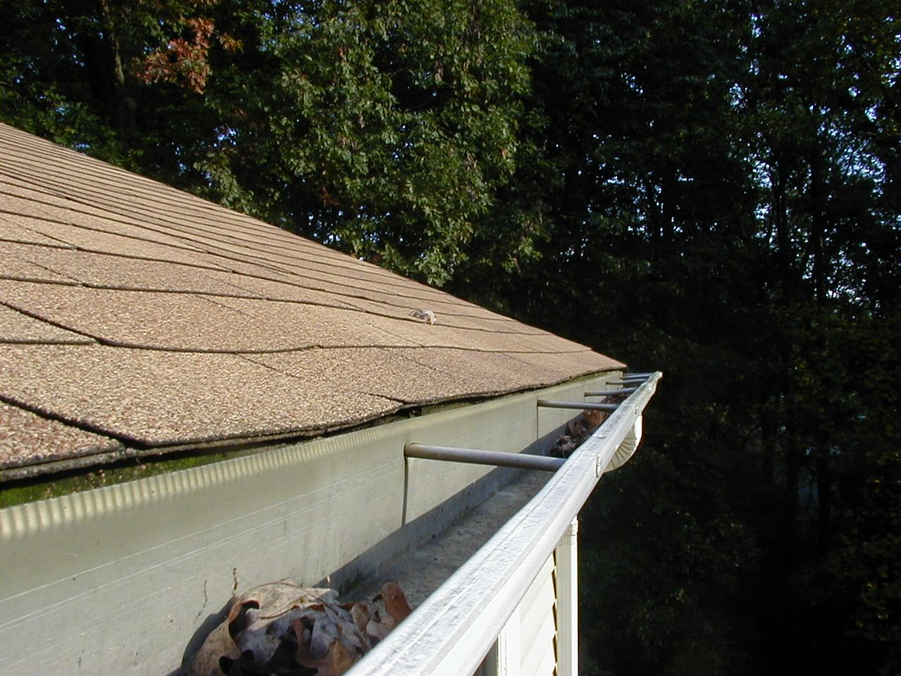 Nice Gutter Repair Job By Our Friends In Montgomery County Maryland Henry S Housework Gutter Repair Gutters Gutter