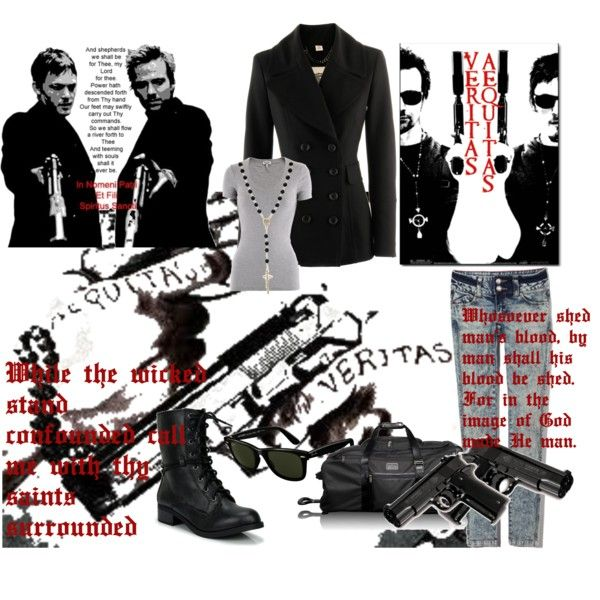 Boondock Saints- My's take, created by lawlietx