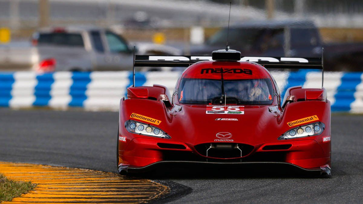Mazda RT24 P Daytona 2018 Sportscar racing Pinterest