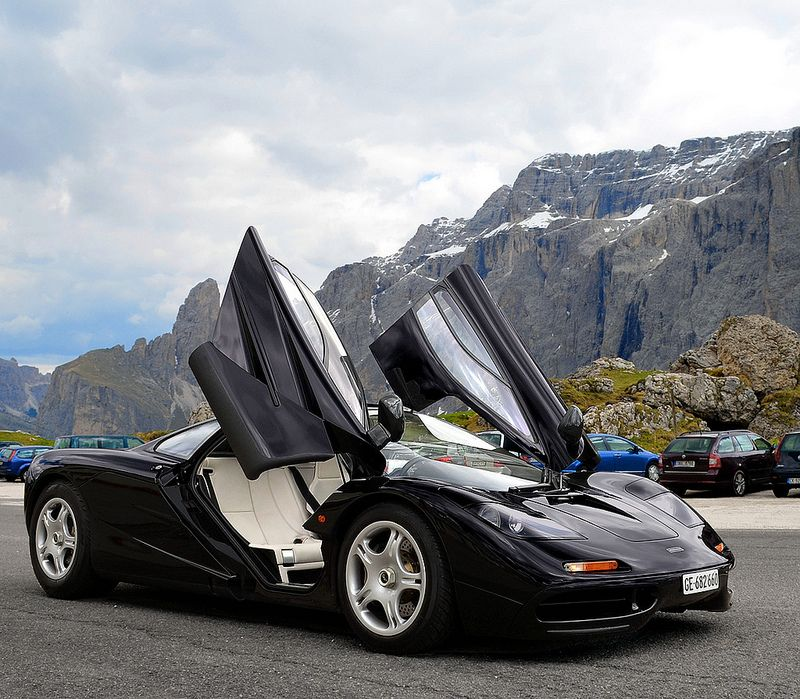 Rising to great heights in a beautiful place. Mclaren f1