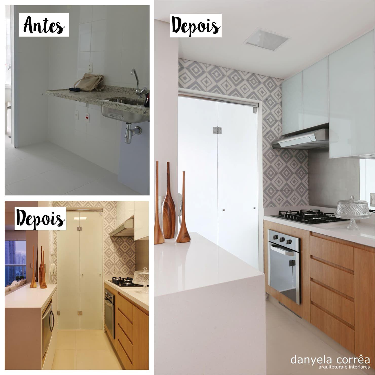 Arquitetura Integrando Pisos: Cozinha Integrada Com Sala De Estar