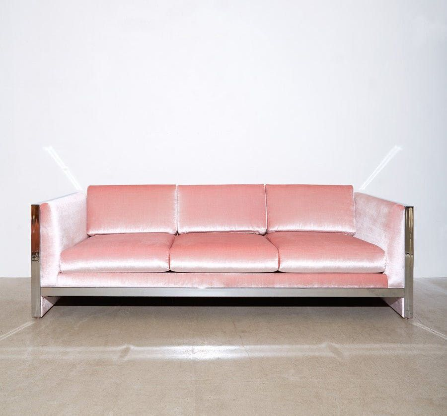 When Two Trends Collide: 9 Beautiful Pink Velvet Sofas   Pink velvet ...