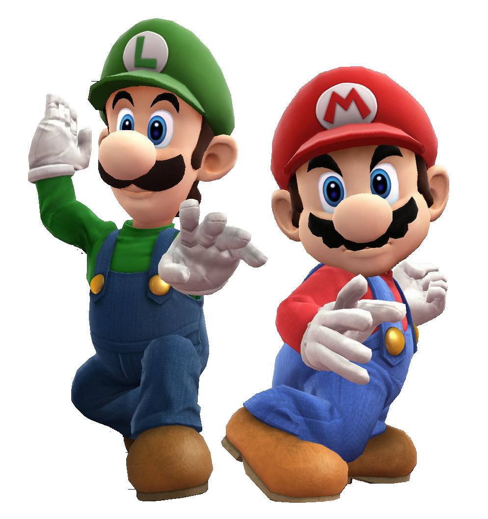 Mario And Luigi Clipart