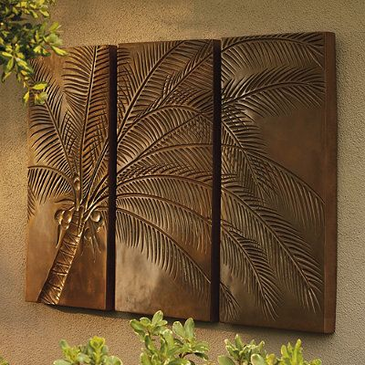 Frontgate-Palm Tree Triptych
