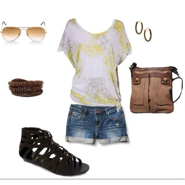 Relax and cute look