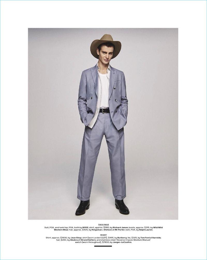 d350bb93b3b0be Office Cowboy  Ben Allen for GQ Australia
