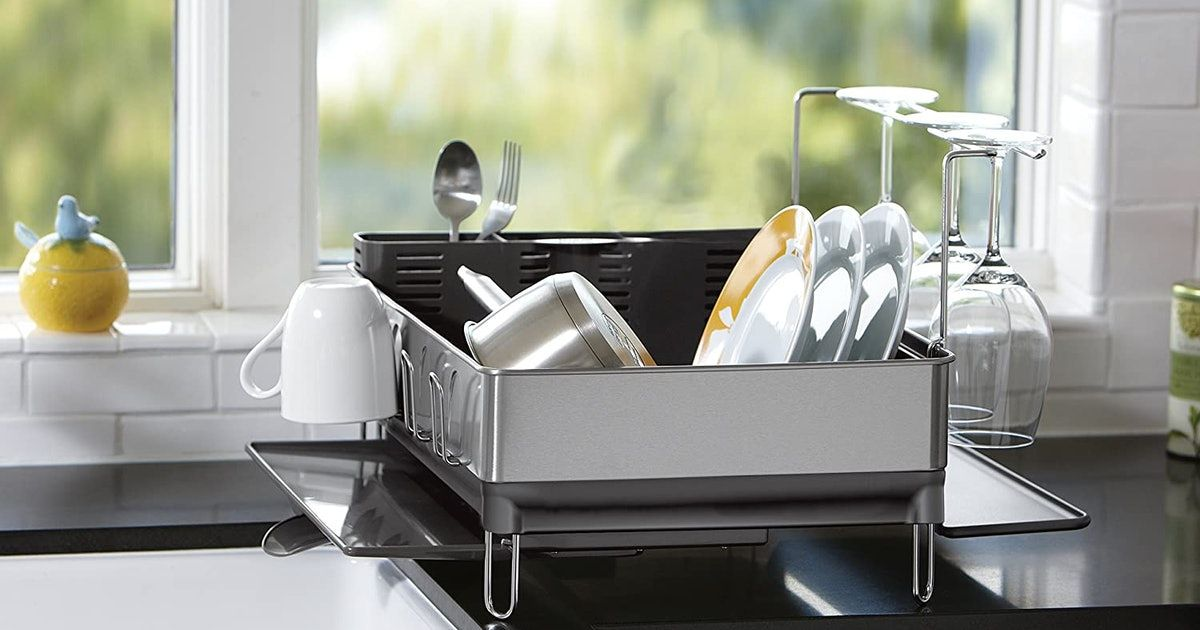 A Rust-Proof Dish Rack That Can Hold 80+ Pounds & 4 More That Will Stand The Test Of Time