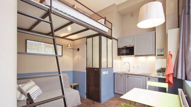 A paris 11 m parfaitement g r s plancher bois - Architecte interieur paris petite surface ...