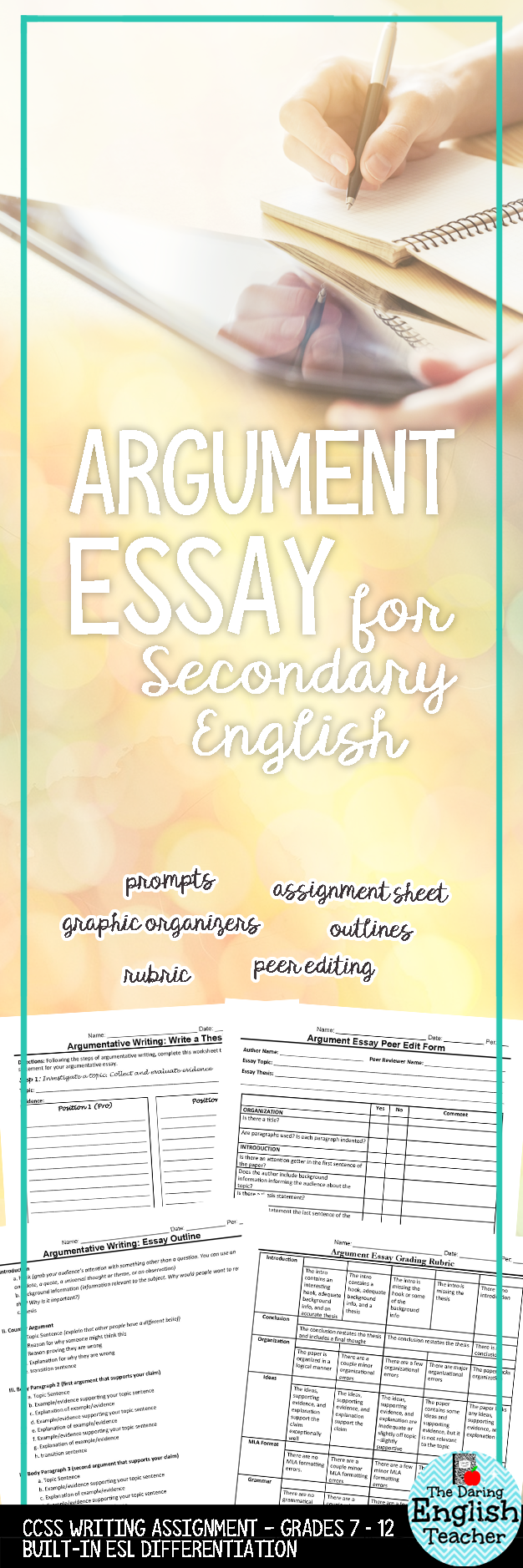 writing theme essay online