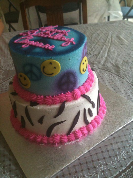 A Groovy Birthday Cake For A Teenage Girl Special Occasion And