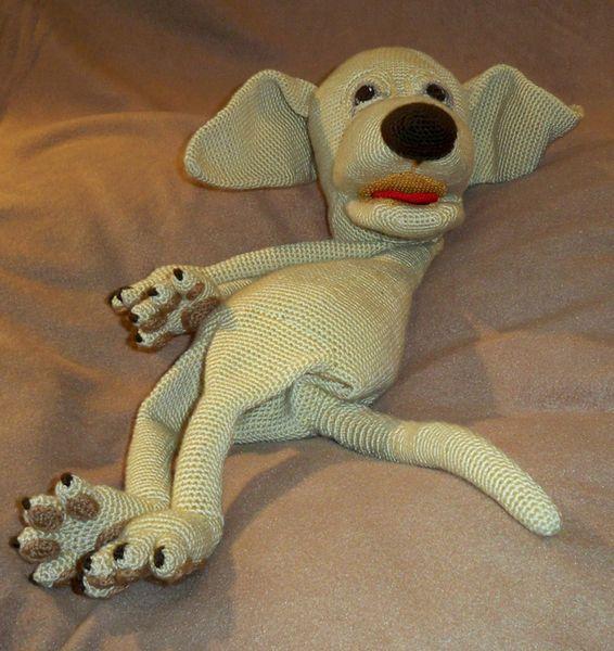 Häkelanleitungen - Handpuppe Hund Häkelanleitung - ein Designerstück von michi-h-art bei DaWanda