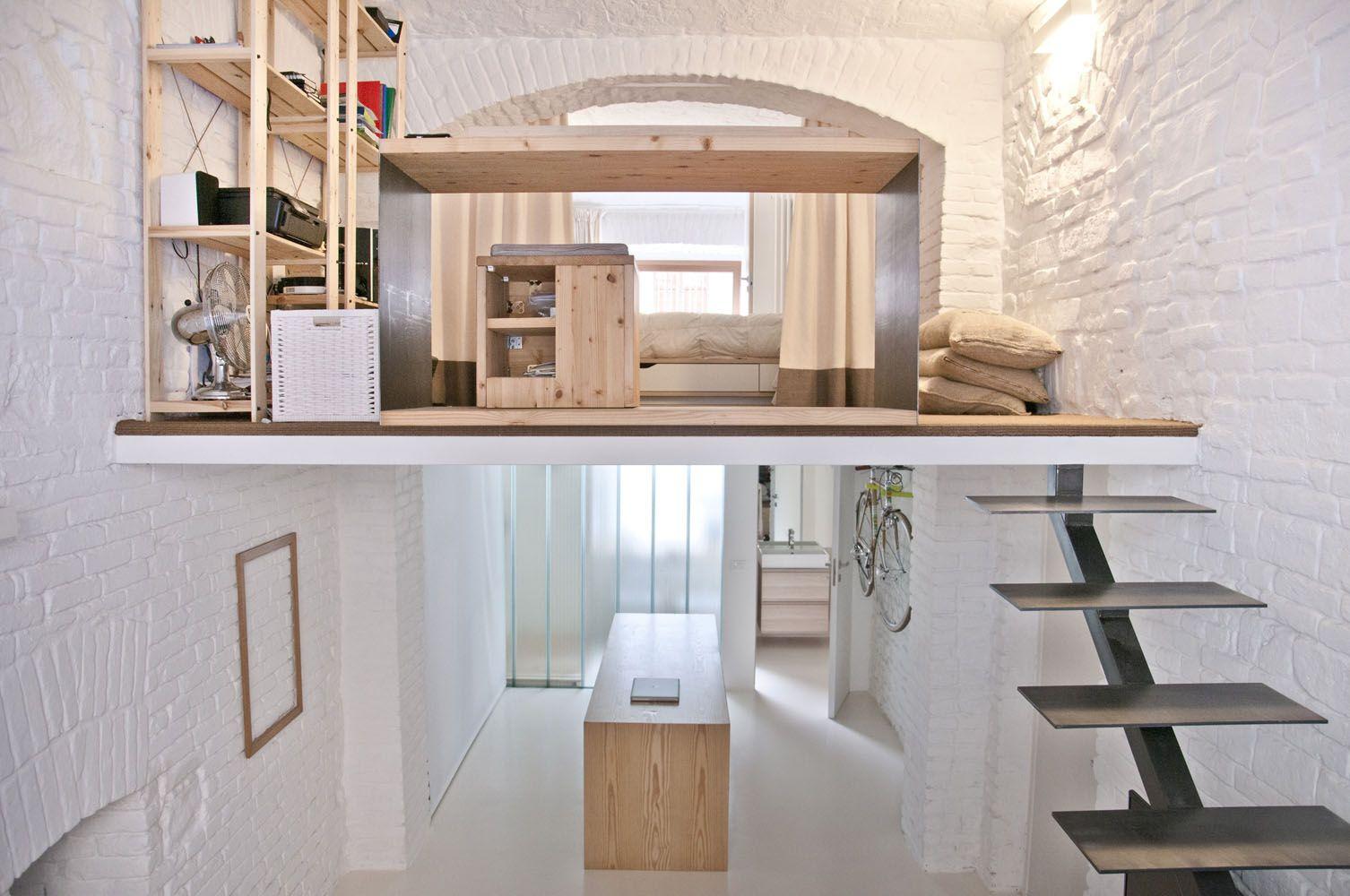 Studio Apartment Loft studio apartment - r3architetti | interieurarchitectuur