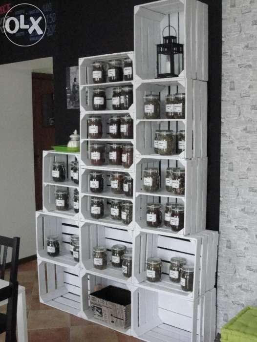 Skrzynki Drewniane Rozne Kolory Ostroleka Olx Pl Shoe Rack Home Home Decor