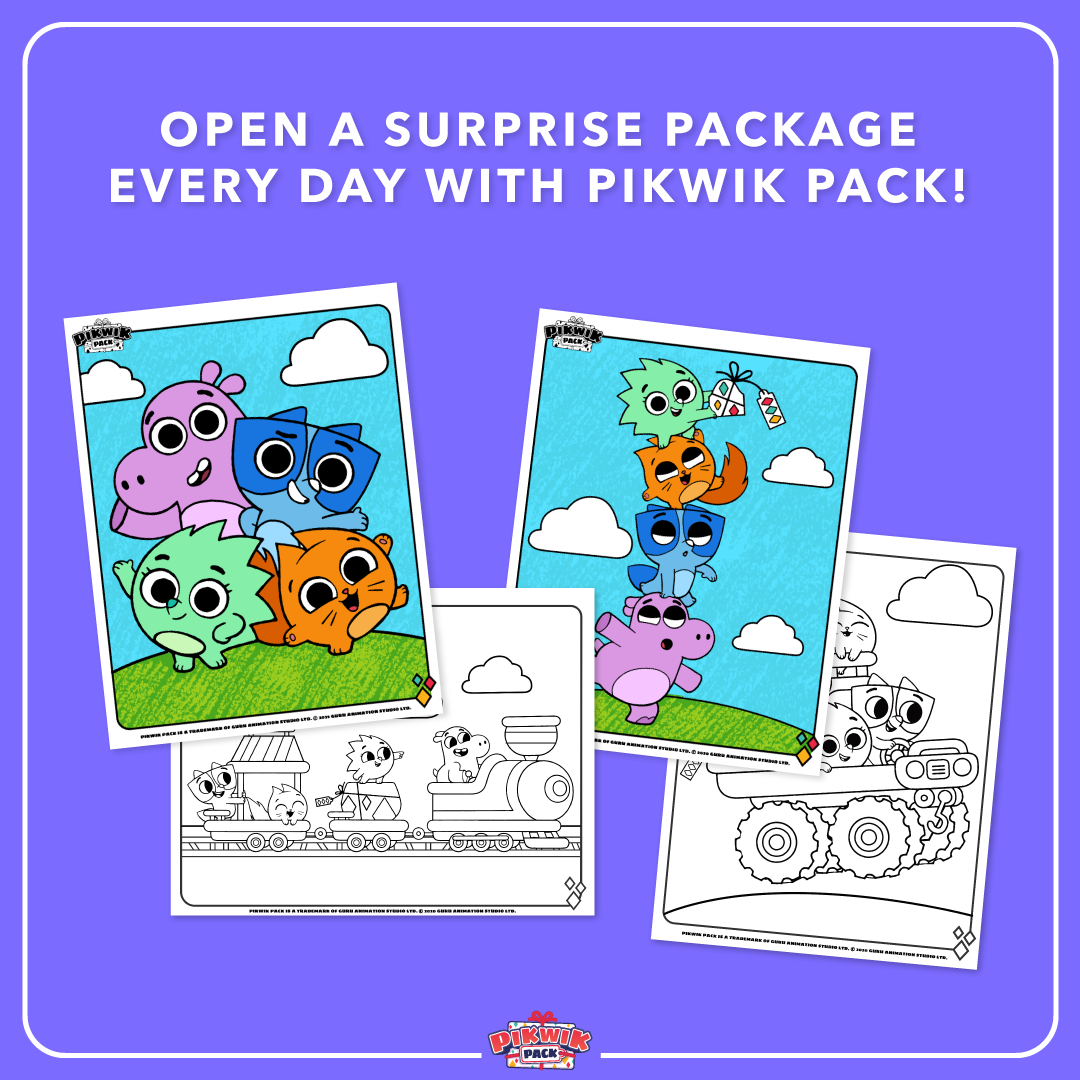 Pikwik Pack Coloring Sheets Disney Junior Coloring Sheets Disney [ 1080 x 1080 Pixel ]