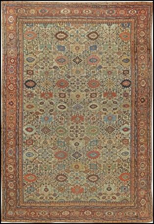 Antique Looking Area Rugs