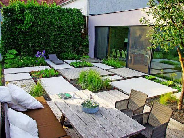 Dise o de jardines modernos by for Disenos jardines pequenos modernos