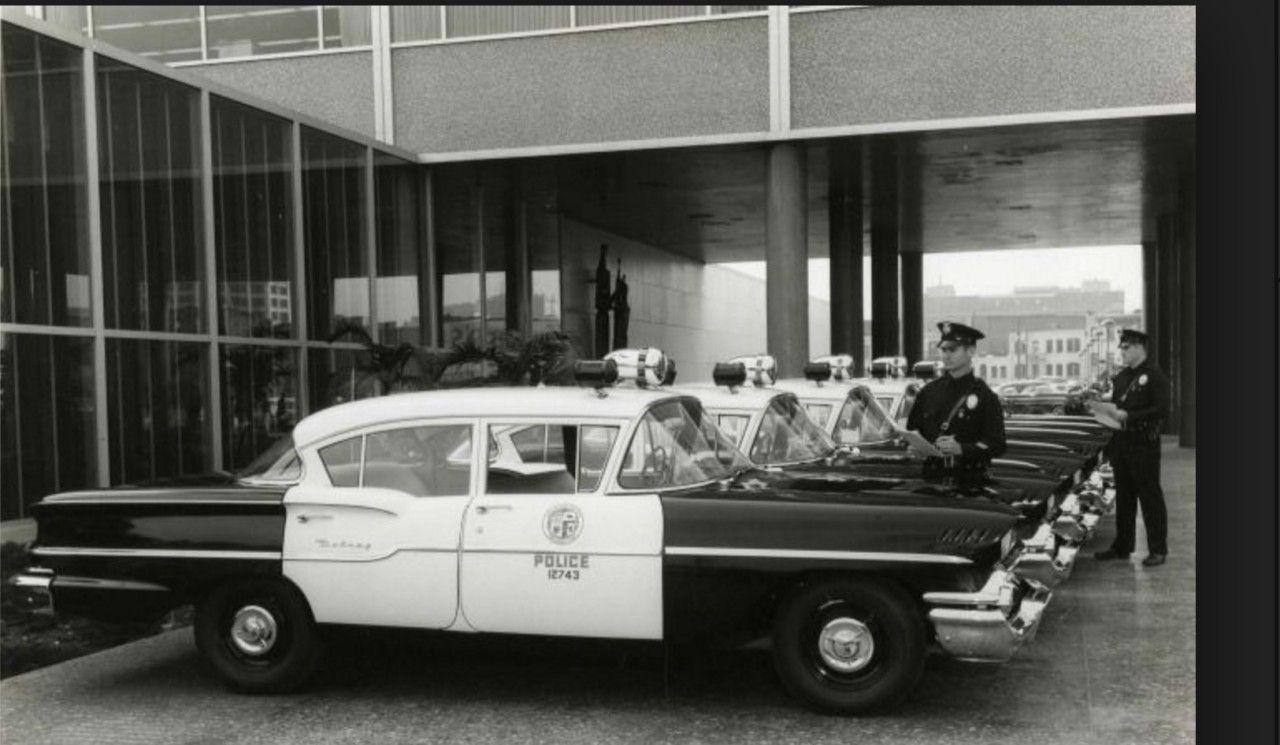 The Los Angeles Police Department Used 1958 Chevrolet Delray