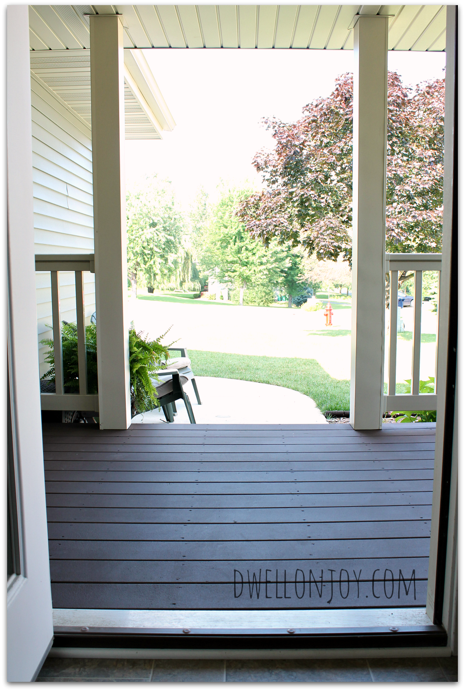 A Deck Face Lift DeckOver By Behr Dwell On Joy Review - Joy home design