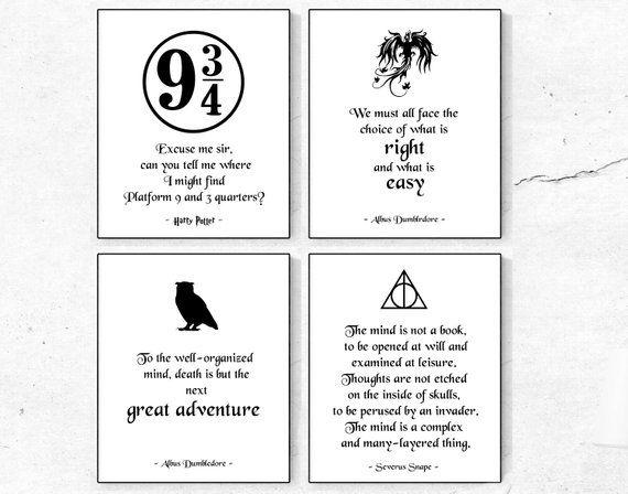 Harry Potter Quotes Albus Dumbledore Quotes Severus Snape