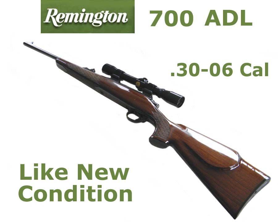 Remington model 700 ADL  30-06 Rifle | Remington Firearms