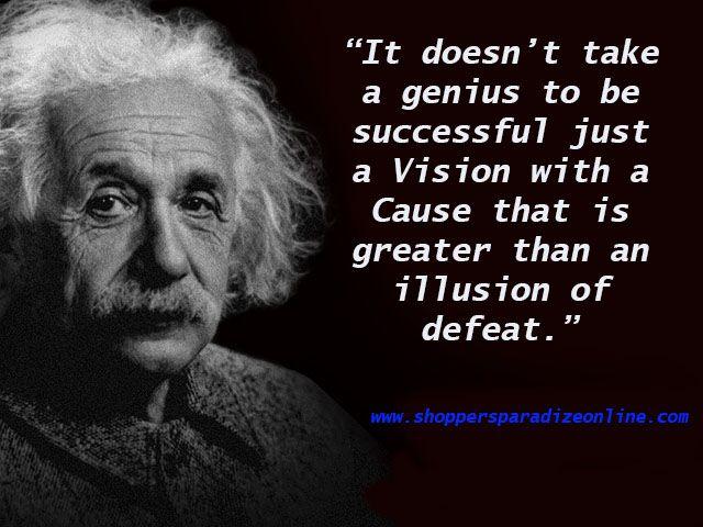 What S Your Vision Einstein Quotes Einstein Albert