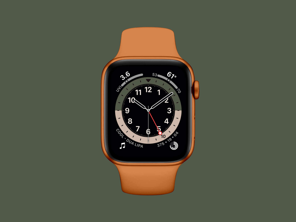 Free Apple Watch Series 6 Mockup Psd Free Apple Watch Apple Watch Apple Watch Series
