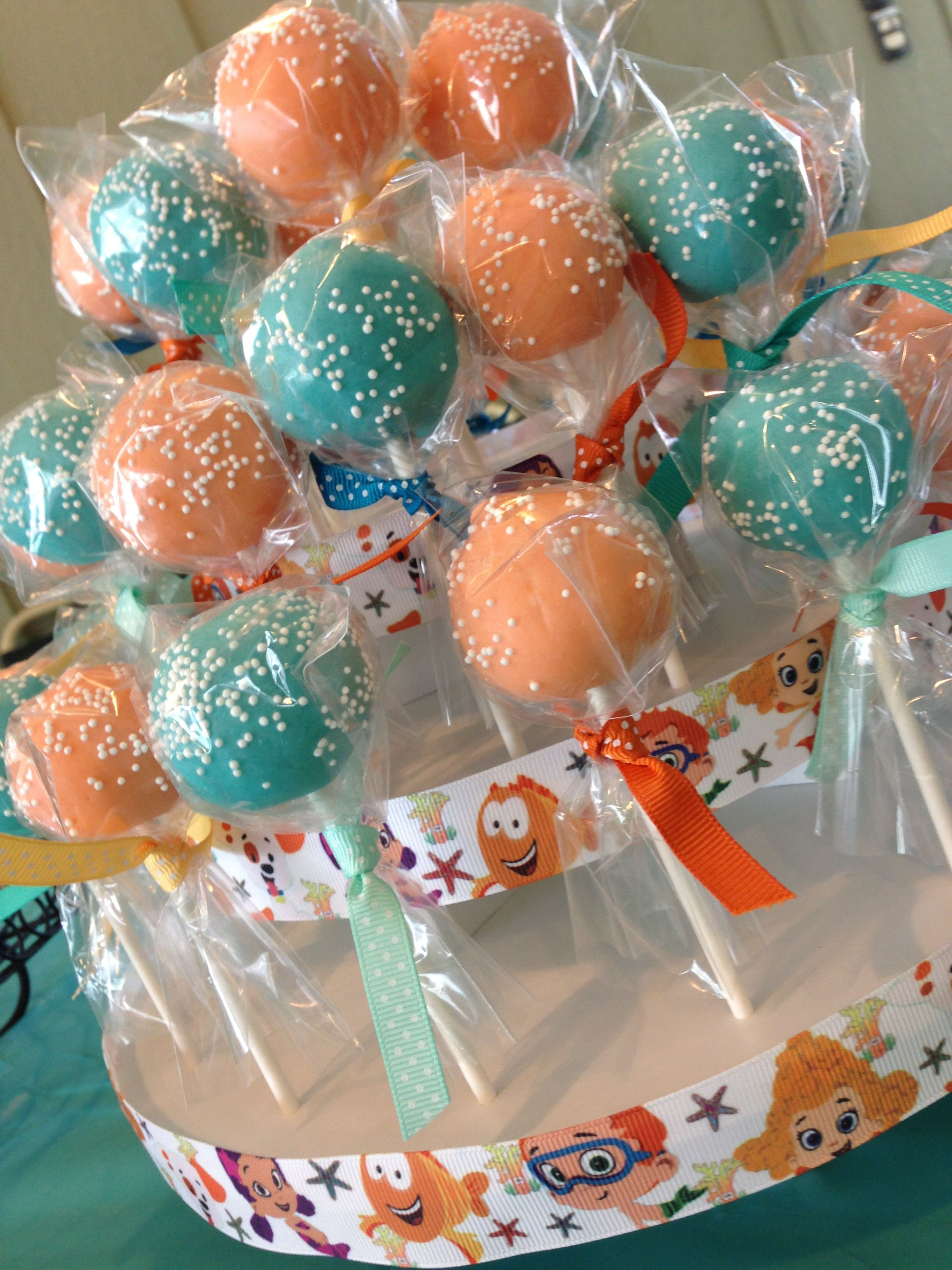 14++ Bubble guppies cake pops trends