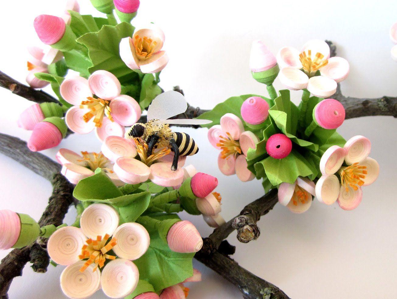 Bridgits Quilling Apple Blossom Part 1 Tutorial Paper