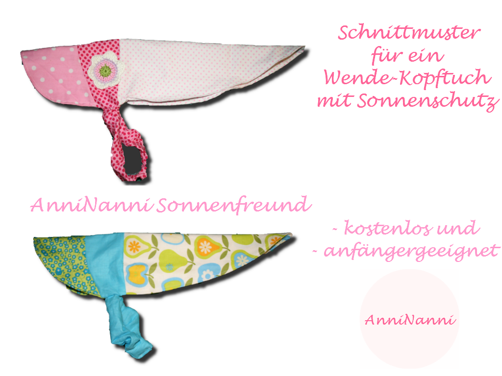 Mama Naehblog: kostenloses Schnittmuster für DAS Sommerkopftuch ...