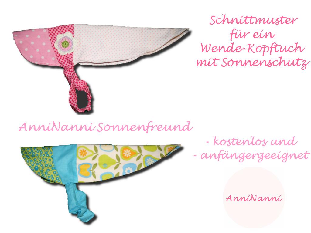 Mama Nähblog: kostenloses Schnittmuster für DAS Sommer-Kopftuch ...