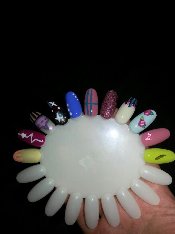 Not A Wheel Of Fortune But One With Some Cute Nail Art Designs Some