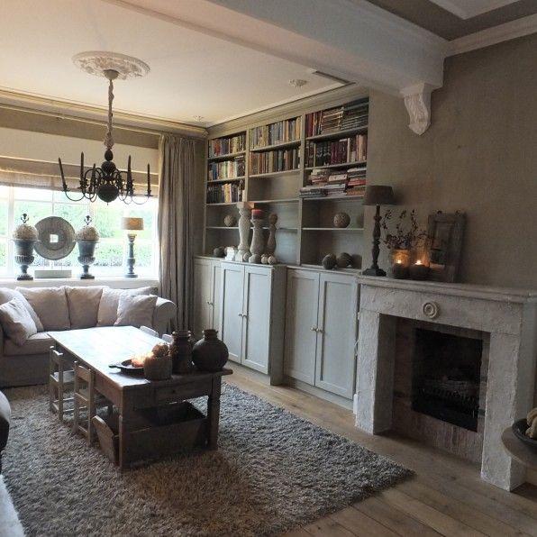 Binnenkijken woonkamer   StylingLiving, Annie Sloan dealer en het ...